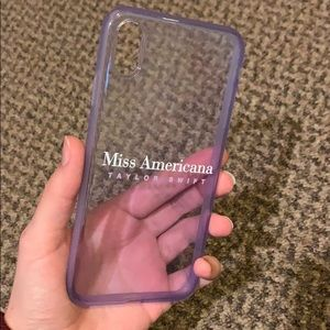 Taylor Swift iPhone XS Max case